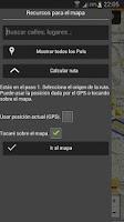 Screenshot of Audio guía Brujas