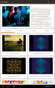 Bandhook - Discover new music - screenshot thumbnail