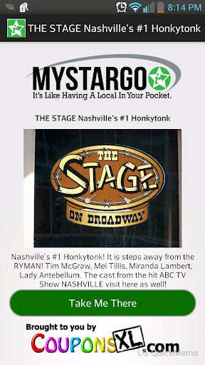 Nashville Celebrities MystarGo