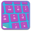Purple SMART KEYBOARD Skin icon