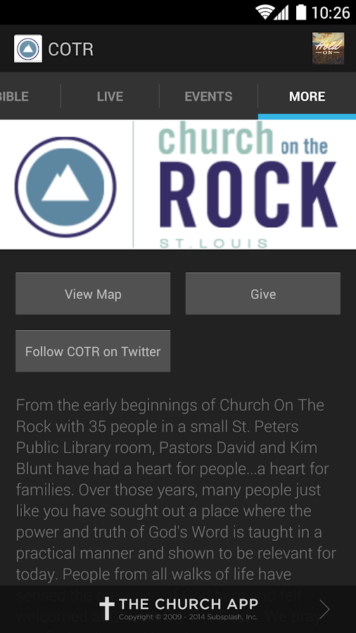 Church on the Rock - screenshot