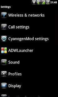 Anastasdroid Color - CM7 Theme - screenshot thumbnail