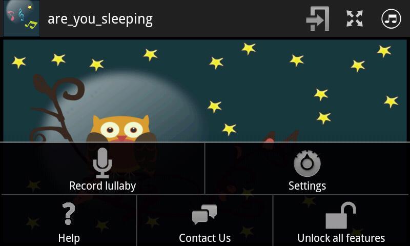 Baby Lullaby Music White-Noise- screenshot