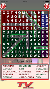 Epic TV Word Search- screenshot thumbnail