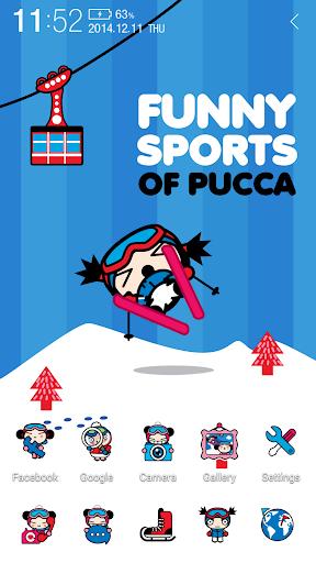 玩個人化App|プッカ スキー アトム テーマ免費|APP試玩