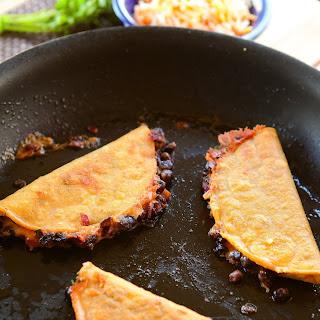 Crunchy Black Bean Tacos.