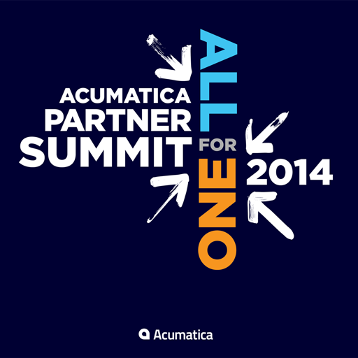 2014 Acumatica Partner Summit LOGO-APP點子