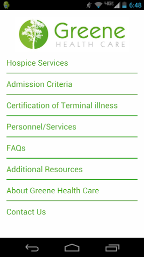 Greene Resource Guide