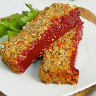 Best Lentil Meatless Meatloaf.