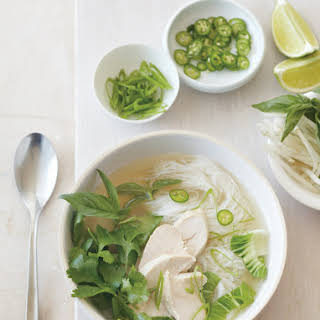 Asian-Style Chicken Soup with Baby Bok Choy.