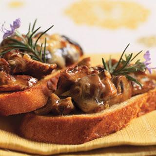 Wild Mushroom Crostini.