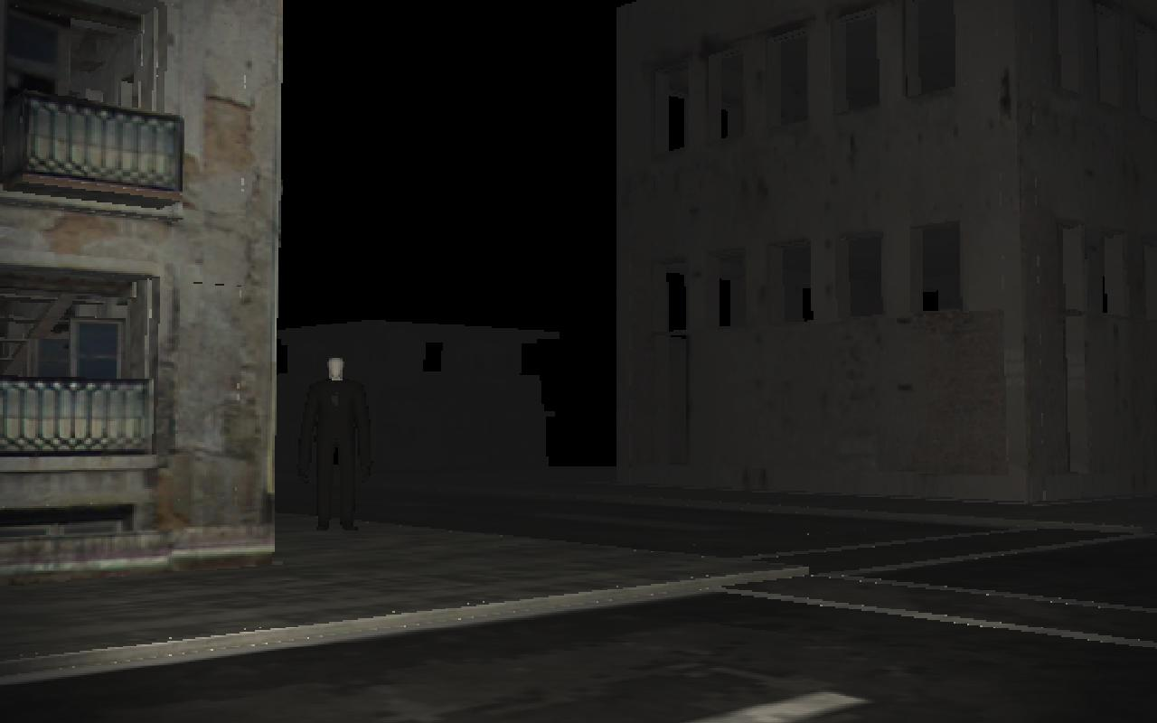 Streets of Slender - screenshot