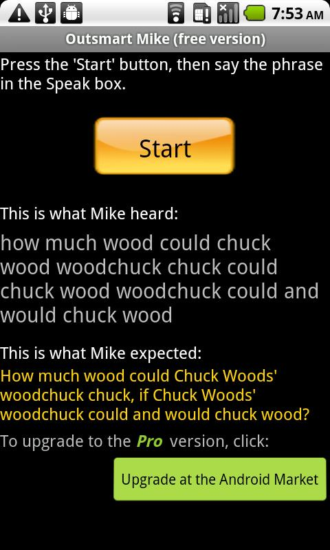 Outsmart Mike! (free)- screenshot