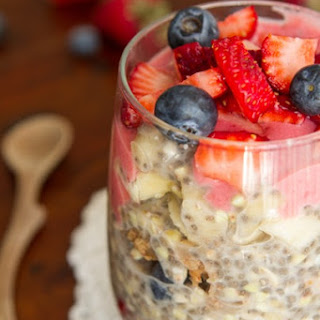 Easy Overnight Buckwheat Parfait.