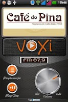 Screenshot of Voxi FM