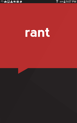 Rant - The Bad Day App