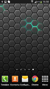 Honeycomb Live Wallpaper