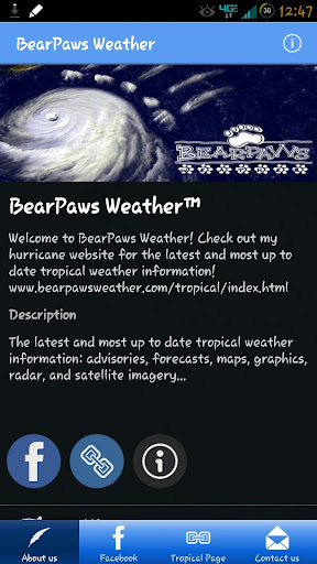 BearPaws Weather