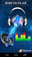 Screenshot of Hindi Radio FM