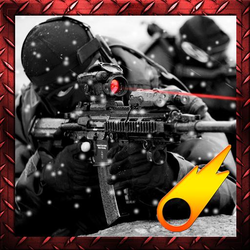 山狙擊手攻擊3D 動作 LOGO-阿達玩APP