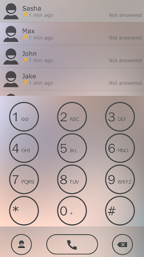 ExDialer Light Theme