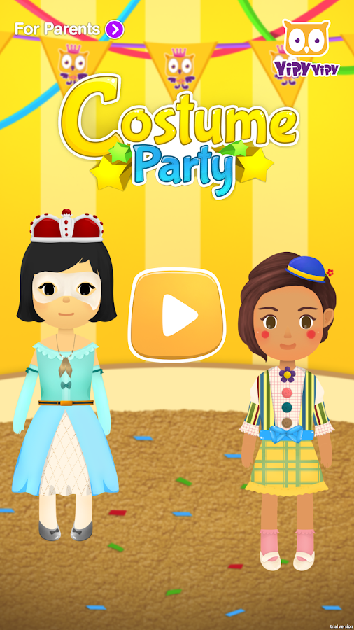 Yipy Costume Party- screenshot