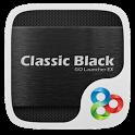Classic Black Launcher Theme icon