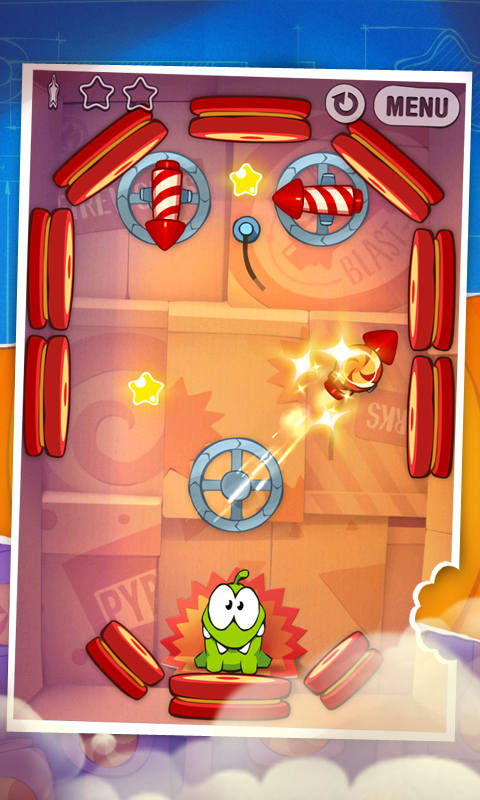 Cut the Rope: Experiments- screenshot