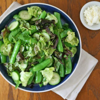 Snap Pea and Cucumber Salad