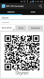 Wifi QR Code Generator - screenshot thumbnail