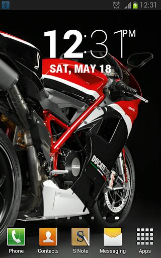 Super Bikes Live Wallpaper