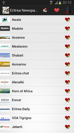 厄立特里亚报纸和新闻