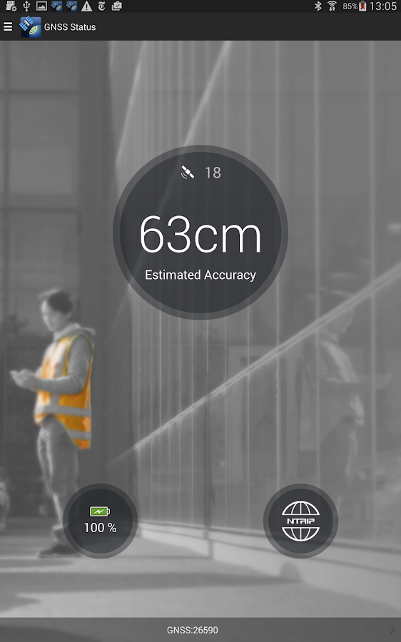 GNSS Status - screenshot