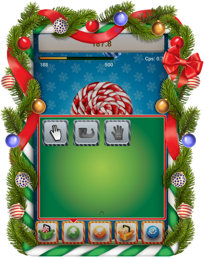 Christmas Cookie Clicker - screenshot