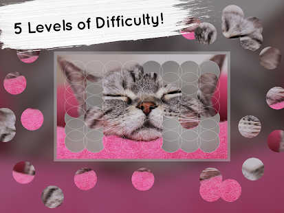 Venn Cats: Circle Jigsaw- screenshot thumbnail