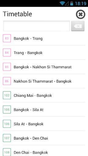 Thai Railway รถไฟไทย