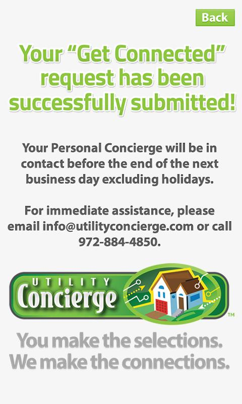 Utility Concierge- screenshot