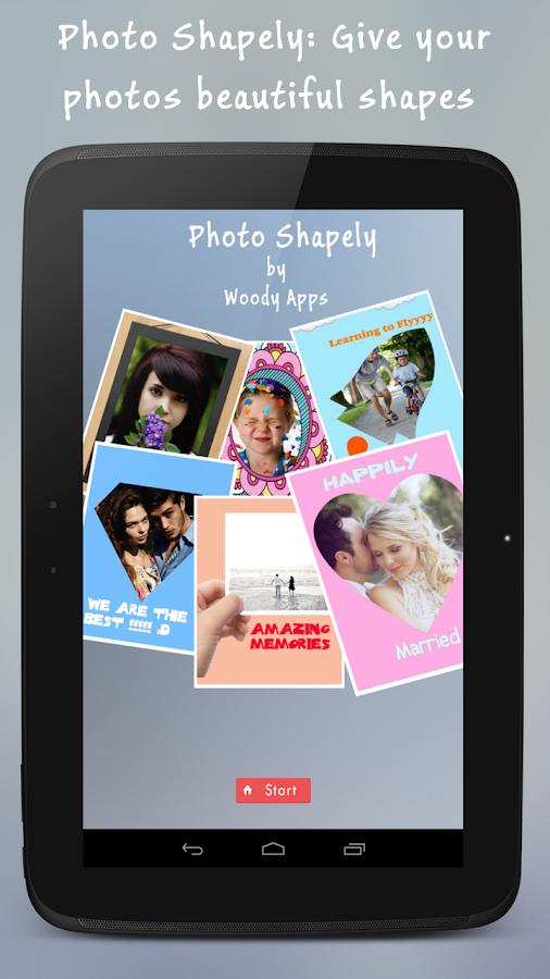 Photo Shapely - screenshot