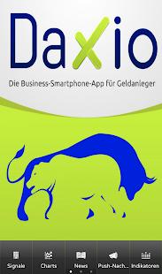 Daxio - Börse mit Strategie