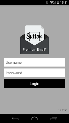Sutton Premium Email