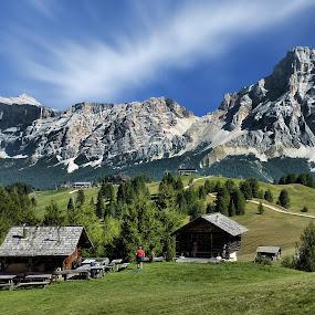 Alta Badia II by Stefano Landenna - Landscapes Mountains & Hills ( trentino, italia, alta badia, dolomites, italy )