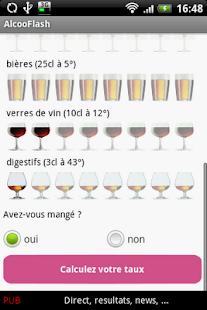 AlcooFlash– Vignette de la capture d'écran