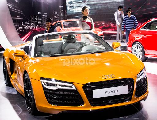 Audi Car At Auto Expo World Events News Events Pixoto - Audi car events