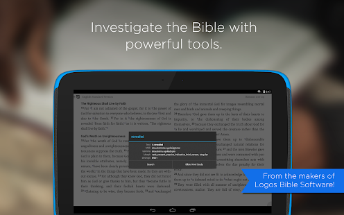 Logos Bible- screenshot thumbnail