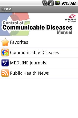 Communicable Diseases CCDM