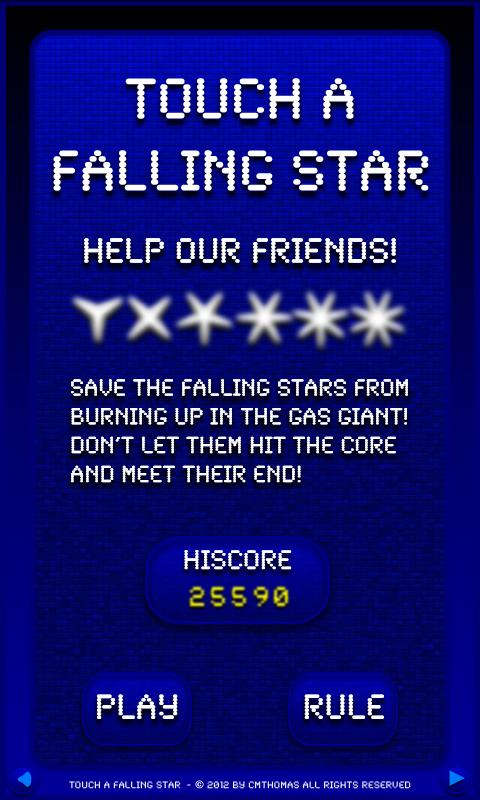 Touch A Falling Star Free- screenshot