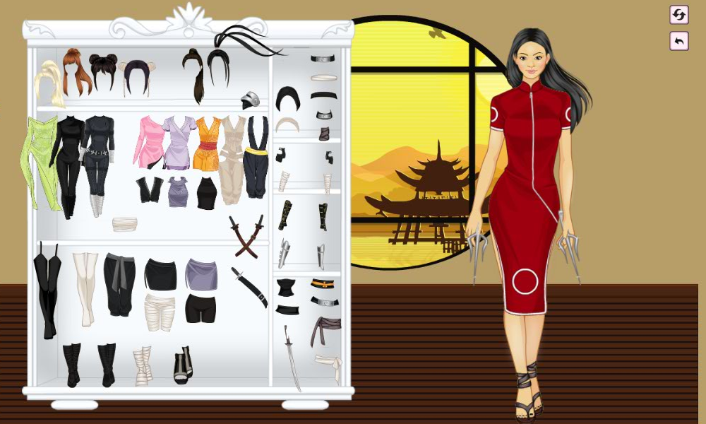 Ninja Girl DressUp - Android Apps on Google Play
