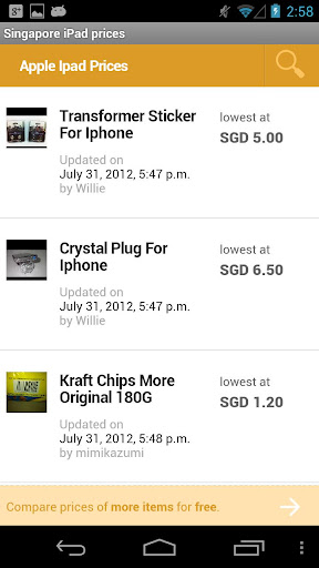 Singapore iPad Prices