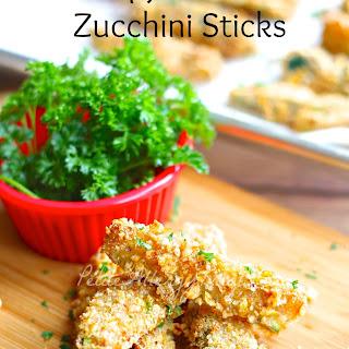Gluten Free Vegan Breaded Zucchini Fries