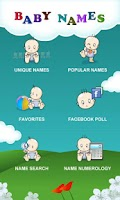 Screenshot of Million Baby Names